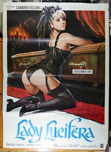 manifesto 2F film LADY LUCIFERA Carmen Villani José Ramon Larraz 1979