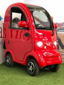 ScooterPac Cabin Car MK2 8mph Mobility Scooter W/ Reversing Camera