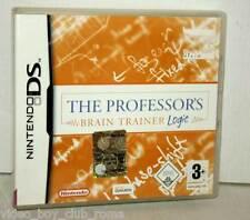 THE PROFESSOR'S BRAIN TRAINER LOGIC GIOCO USATO DS & 3DS ED ITALIANA PAL GS1