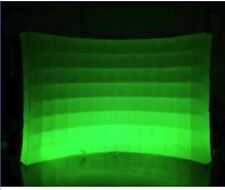 9.8ft X 7.8ft digital LED lighting inflatable cloth photo booth wall backdrop
