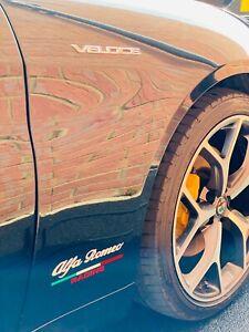 Alfa Romeo Racing Vinyl Decal Sticker Italian Flag Colour High Quality 180mm