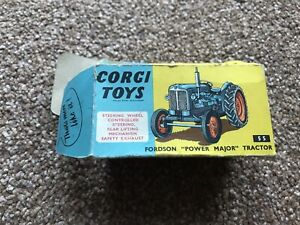 "Corgi Toys FORDSON ""POWER MAJOR"" TRACTOR - Box Only"