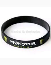 Bracciale in Gomma Monster energy moto gp motocross sport silicone Uomo Donna