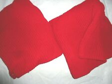 """Dillard'S Nobility Modern Cable Knit Ribbed Bright Red (2) Euro Pillow Sham 26"""""""