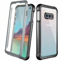 For Samsung Galaxy S10e Case Full Body Bumper Built-in Screen Protector Cover