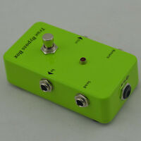 AB BOX Looper  Pedal Amplifier Switch Effects guitar Green Loop True-Bypass