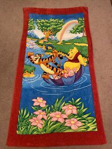 Winnie The Pooh Beach Towel Tigger Piglet