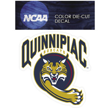 Quinnipiac Bobcats Primary 2002-Present Logo NCAA Die Cut Vinyl Car Decal Bumper