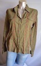 Maui Wowie schöne Stretch Bluse Hemd M 38 TOP