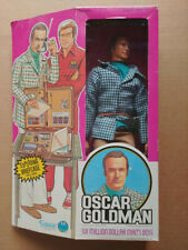 1973 Six Million Dollar Man Oscar Goldman Doll Figure w Exploding Briefcase