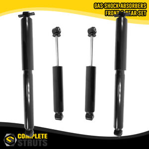 1991-2004 GMC Sonoma 4WD Front & Rear Gas Shock Absorbers