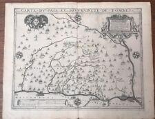 Carte Le Clerc 1617 Le Pais des Dombes