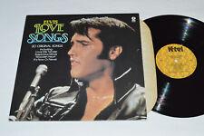 ELVIS PRESLEY Love Songs LP K-Tel Records NC-524 Made in Canada Vinyl VG/VG