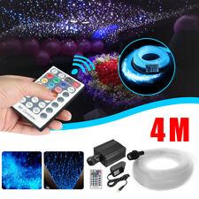 16W RGBW Engine LED Fiber Optic Star Ceiling Light Kit 335Pcs 4M 0.75mm +Remote