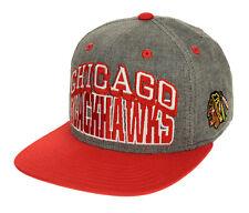 Reebok NHL Men's Chicago Blackhawks Team Pride Structured Snapback, OSFM
