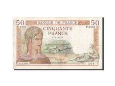 Billets, 50 Francs type Cérès #205476