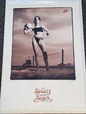 Gabby Gabrielle Reece BEAUTY AND THE BEACH 1994 Nike Volleyball Original POSTER