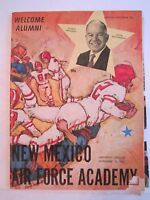 1963 AIR FORCE ACADEMY VS NEW MEXICO COLLEGE FOOTBALL GAME PROGRAM - BOX RH-4