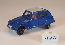 Best Box ca. 1/66 Nr. 2521 Citroen Dyane Limousine blau #114