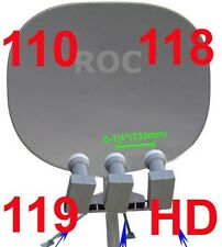 """33"""" SUPER 110/118/119/129 HD DISH 1000 PLUS SATELLITE"""