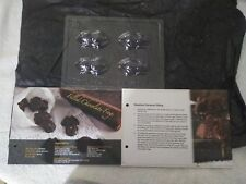 Geek Gear Harry Potter Chocolate Frog Moulds  and Recipe card    US Seller