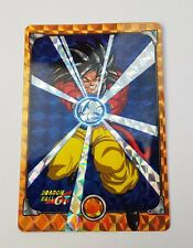 carte dragon Ball z hors serie gt spécial Goku super sayen 4  funcard