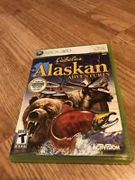 Cabela's Alaskan Adventures (Microsoft Xbox 360, 2006) Game Only VC8