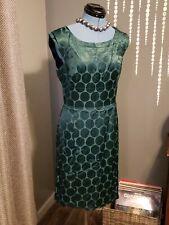 Banana Republic Dress Size 8 Emerald Green Madmen Sexy (c)