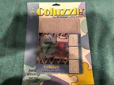 Provo Craft Coluzzle Original Cutting System  Large Stencil Number & Punctuation