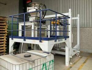 Haver & Boecker SWA/MECII-20 Beladeeinrichtung Waage Füllmaschine f. Schüttgut
