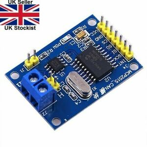 MCP2515 CAN Bus Module TJA1050 Receiver SPI Module Arduino - UK