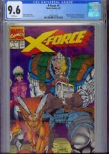 X-FORCE #1 CGC 9.6, 1991, WRAPAROUND COVER