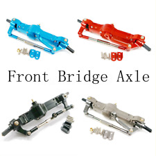 Racerstar Metal Front Bridge Axle For WPL Heng Long JJRC Q60 1/16 2.4G RC Car