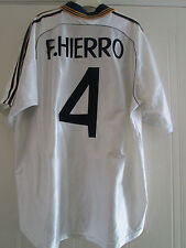 "Real Madrid 1998-2000 F Hierro Home Football Shirt Size XL and Shorts 42"" /39743"