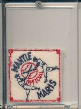 "Rare 2"" x 2"" Official Mickey Mantle / Roger Maris Cloth Patch"