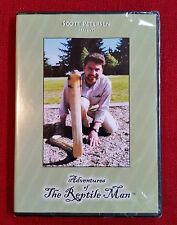 Adventures of The Reptile Man, Scott Petersen - New & Sealed DVD - Free Shipping