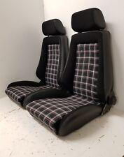 Recaro asientos de cuero-tela para Opel-VW Escarabajo-t2-t3 y oldteimer par nuevo referido