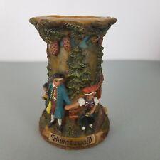 Vintage German Gunter Kerzen Carved Candle Holder Missing Candle Schwarzwald