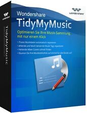 Wondershare TidyMyMusic WiN lifetime dt.Vollvers. ESD Download 19,99 statt 39,99