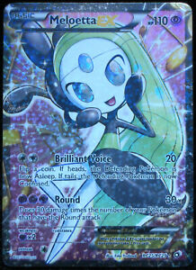 Pokemon -  Meloetta  EX - Legendary Treasures  - RC25/RC25