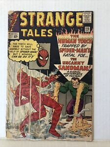 Strange Tales #115 - Dr. Strange Origin 2nd App. Sandman Spider-Man App.