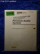 Sony Bedienungsanleitung ZS D5 Mini Disc System (#3219)