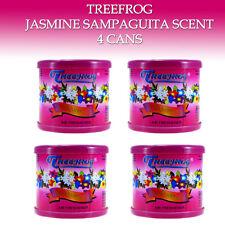 4 CANS - TREEFROG CAR AIR FRESHENER JASMINE SAMPAGUITA - TREE FROG QTY. 4 CANS