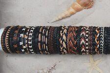 30er Mix Lederarmbänder Armbänder Großhandel / b 089