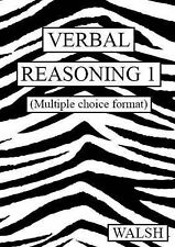 Verbal Reasoning: Multiple Choice Version bk. 1: Papers 1-4, Walsh, Mary, Walsh,