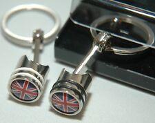 50 Wholesale Promotional Piston Key Ring Rings Chain Fob KeyRing KeyRings JobLot