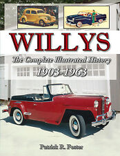 Willys Overland Illustrated History Autographed- NEW BOOK!!!