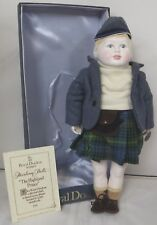 Vintage Boxed Royal Doulton Nisbet China Heirloom Doll - 'The Highland Prince'