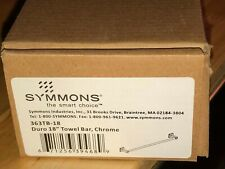 Symmons Duro 18 in Towel Bar in Polished Chrome, NEW