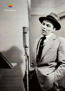 "APPLE Think different FRANK SINATRA poster approx. 28""/20"" mint rolled shipping"